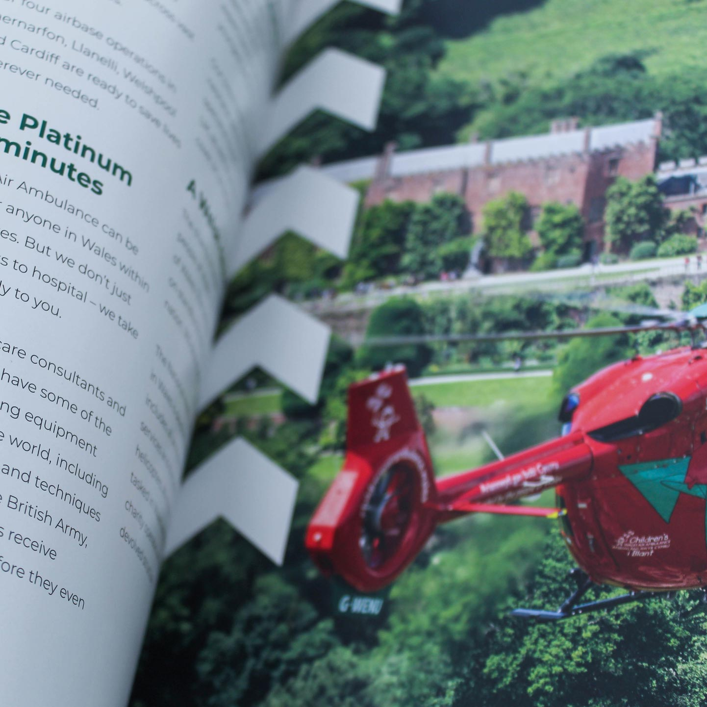 Air Ambulance Inside Pages detail