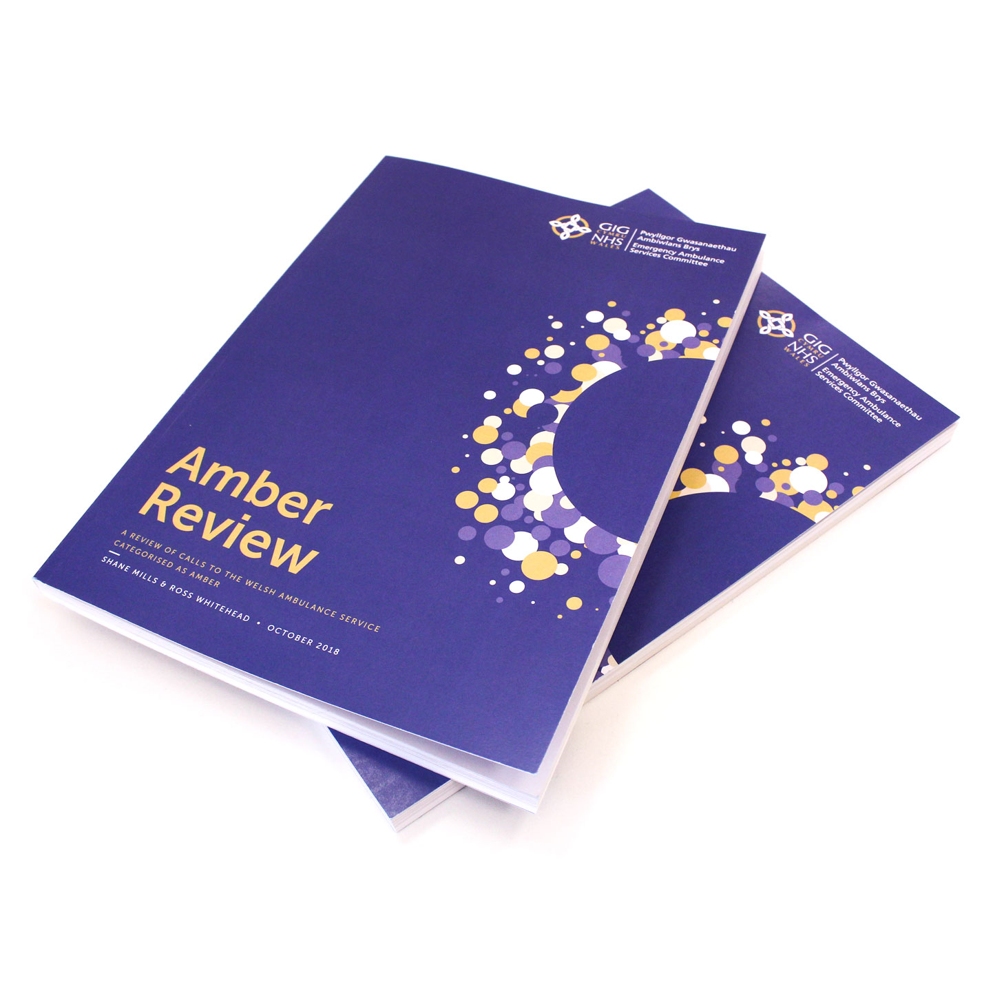 Amber Review Covers